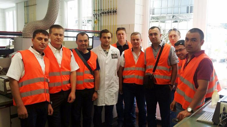 OBK employees visited Liqui Moly